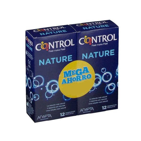 Control Preservativos Nature (Pack 12+12)