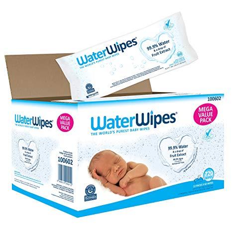 WaterWipes Toallitas Bebe 9x60 Uds