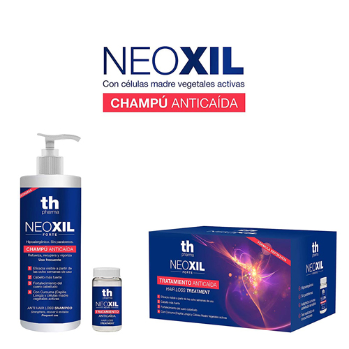 Neoxil Forte Tratamiento Anticaida  Champú  400ml + 20 Ampollas (2 Aplicaciones por ampo.)
