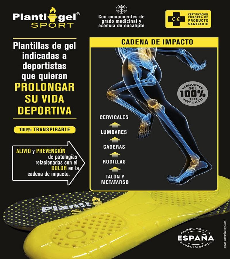 Plantigel Plantilla Sport