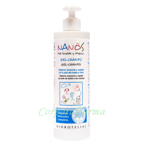 Nanos Champú -Gel Piel Sensible y Atípica 500 ml