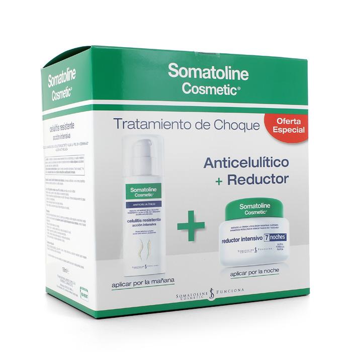 Tratamiento completo Crema intensiva 7 noches +  Celulitis resistente 150 ml