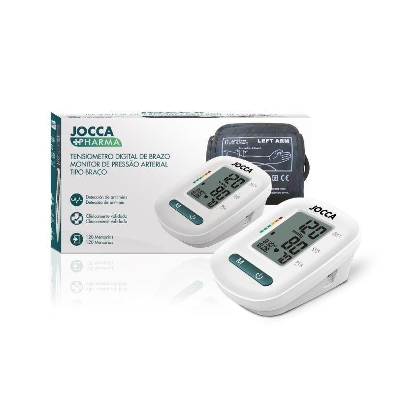 TENSIOMETRO DIGITAL DE BRAZO DUAL CARE JOCCA PHARMA